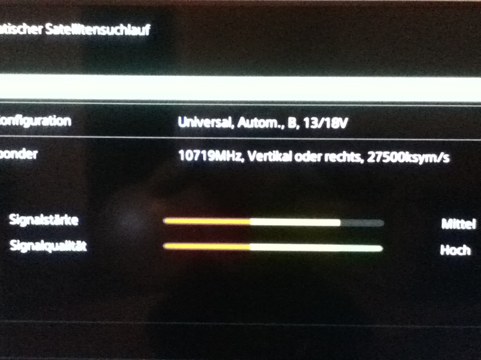 Hotbird Empfangen Mit Dem Sony Bravia Kdl Sony