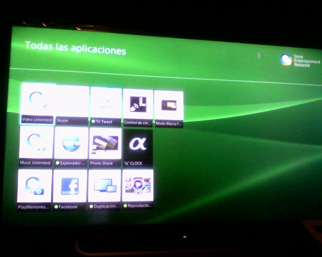 Han desaparecido casi todas las aplicaciones de mi... - Sony