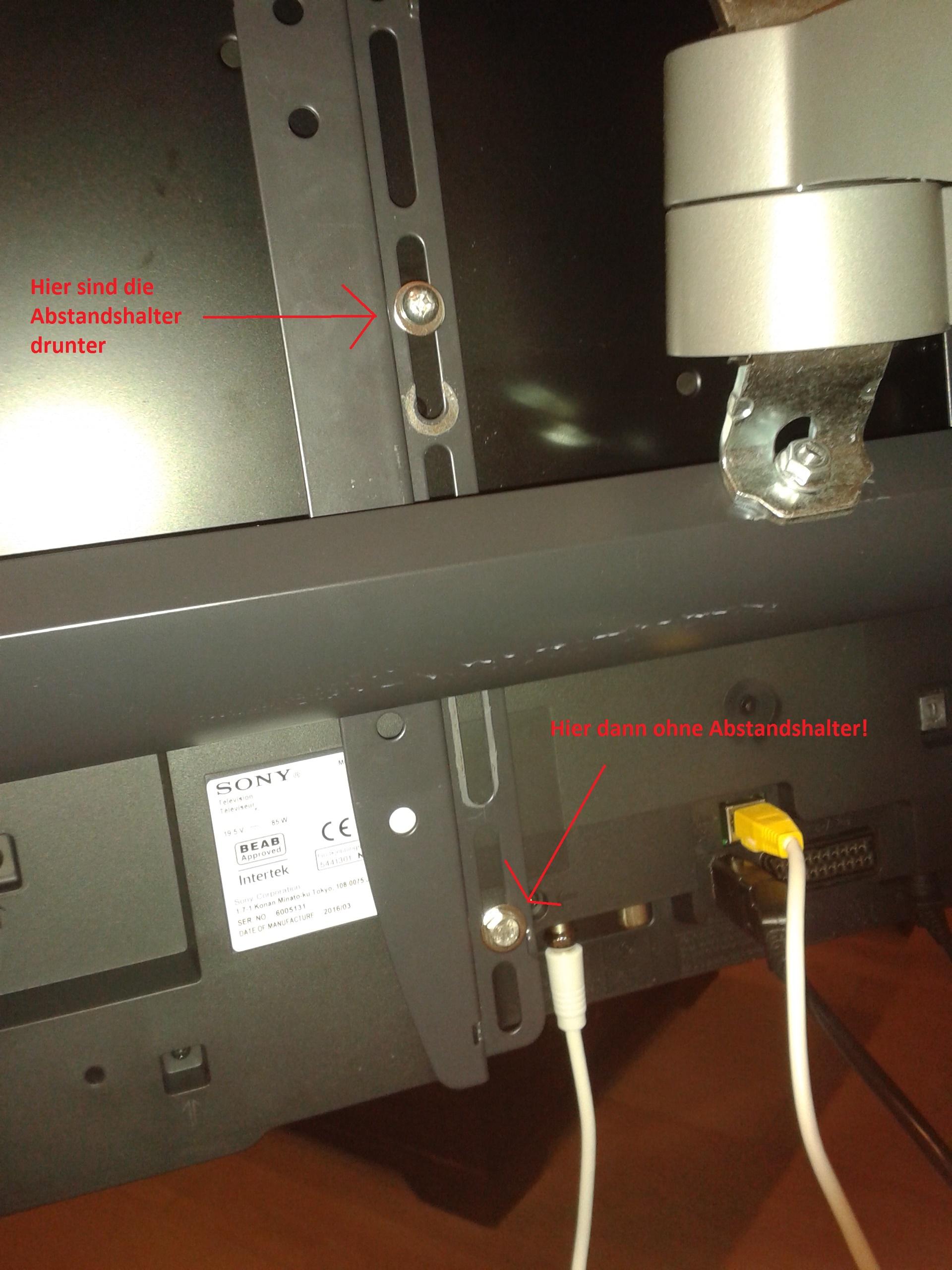Wandhalterung KDL 48wd655 - Sony