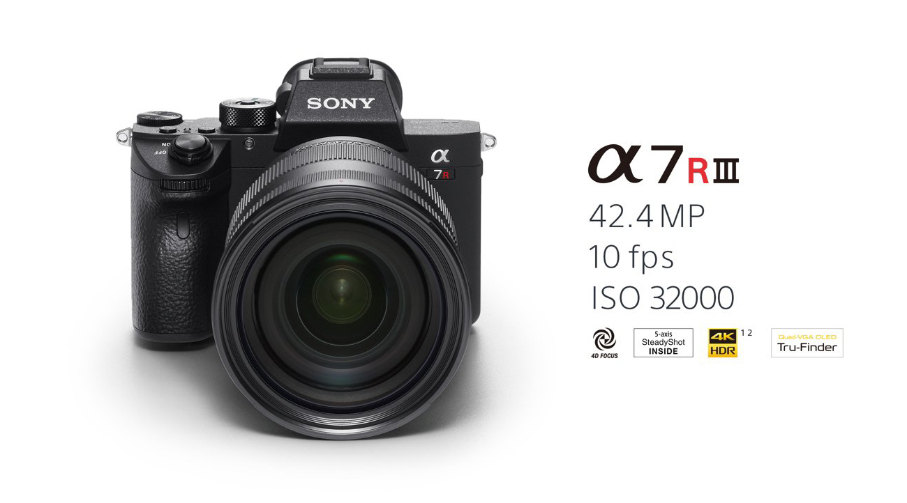 Introducing the new α7R III - Sony
