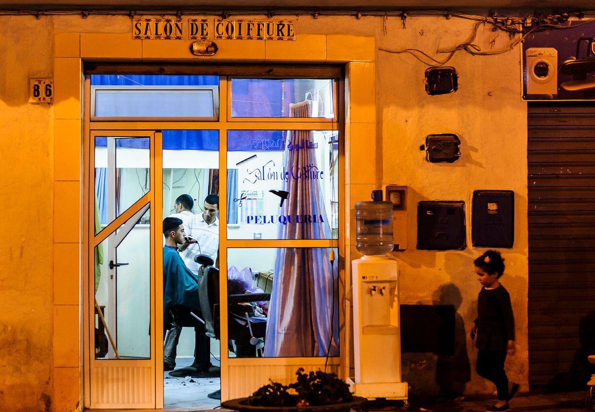 Salon de coiffure - Sony